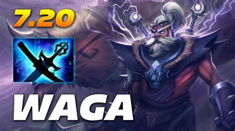 waga disruptor carry yasha  kaya  dota   patch youtube