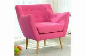 fauteuil scandinave tissu rose riska fauteuil design pas With fauteuil design rose