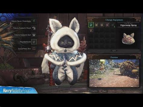 change armor color  monster hunter world doovi