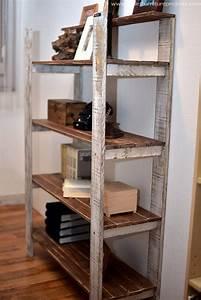 Vintage, Wooden, Pallet, Shelf