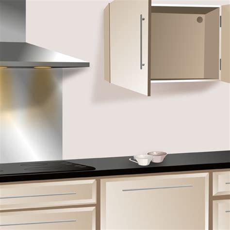 hauteur meuble haut de cuisine fixer un meuble haut de cuisine ooreka