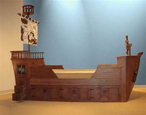 Clever Pirate Ship Bed With Image This For All