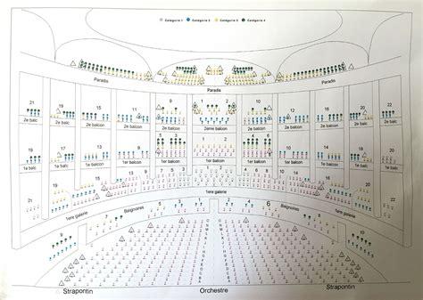 plans de salle op 233 ra national de bordeaux