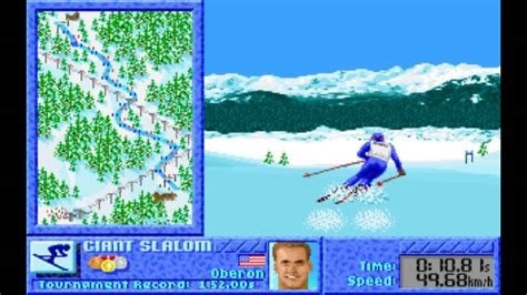 disket dos winter challenge 1991 pc longplay ms dos