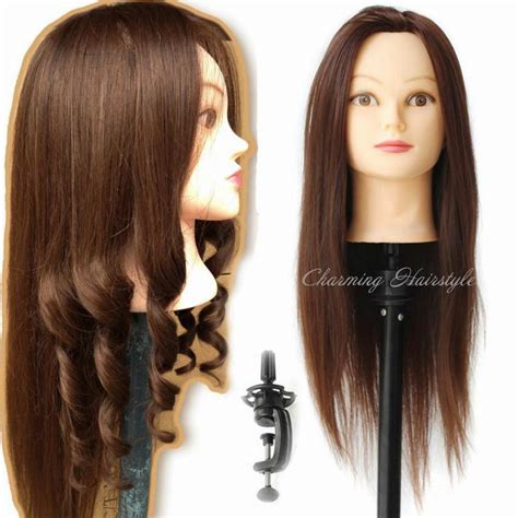Hairstyles For Heads by Mannequin Hair Heat Resistant With Hair Mannequin