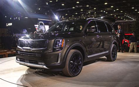 Kia New Truck 2020 by The New 2020 Kia Telluride Looks Ready For Battle The