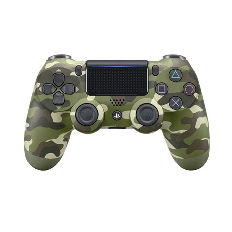 jual sony ps4 new dualshock 4 wireless stick controller green camouflage harga