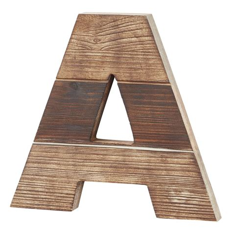 market dark wood letter