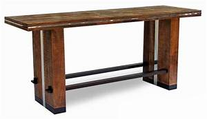 barnwood furniture rustic furnishings log bed cabin With counter height harvest table