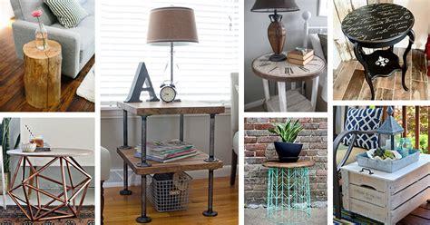 diy side table ideas  designs