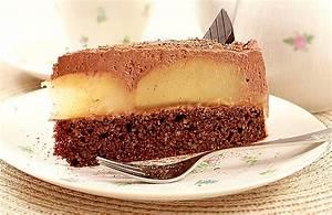 Low Carb Rezept Torte mit Schokolade und Birnen