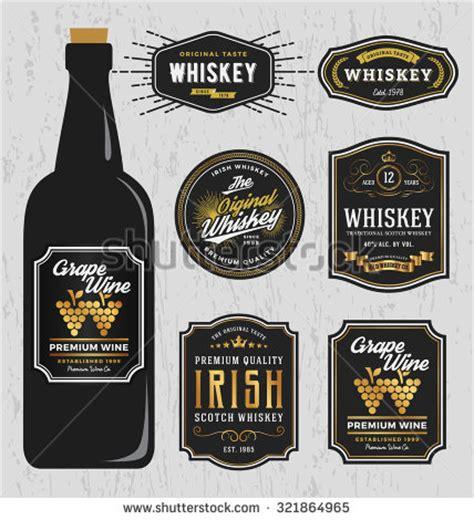 liquor label template printable label templates