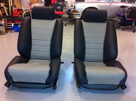 Replica Houndstooth Early 911 Sport Seats