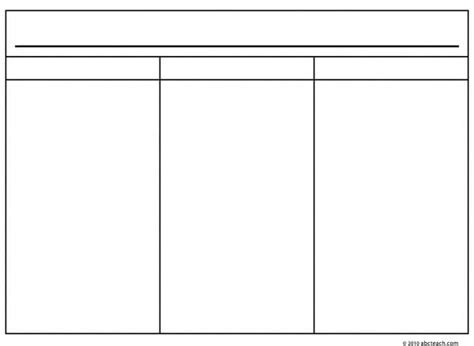 images   chart    column template