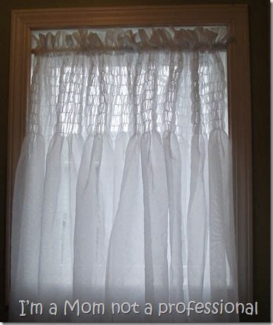 how to make shirred curtains diy crafts