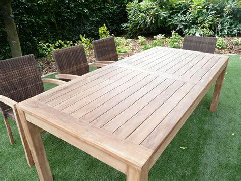reclaimed teak garden table uk  dining set