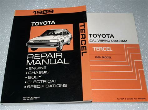 Toyota Tercel Service Repair Manual Electrical