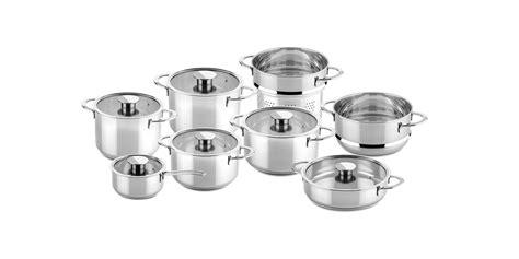 pcs cookware set gourmet stainless steel gourmet cookware