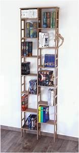 Bücherregal 60 Cm Breit : b cherregal schmal unter 60 cm und ca 200 cm hoch modell limbach ~ Indierocktalk.com Haus und Dekorationen