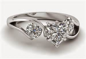 3 wedding ring 3 shaped engagement rings sets for