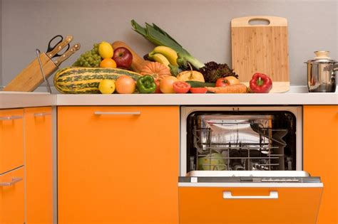 diy tips  painting kitchen appliances orange kitchen
