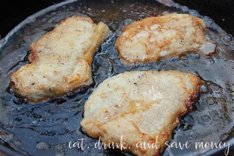 Pan Fried Pork Chops Southern Style