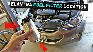 Where Is The Fuel Filter Located On Hyundai Elantra