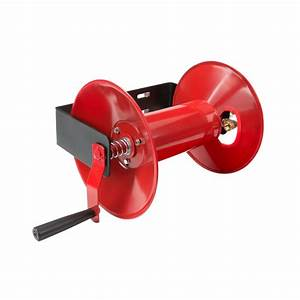 TEKTON 100 ft Hand Crank Air Hose Reel-4687 - The Home Depot