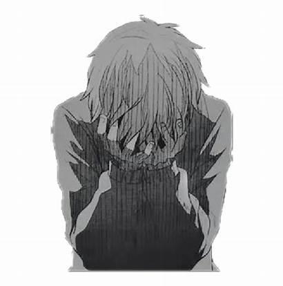 Sad Anime Boy Manga Broken Transparent Clipart