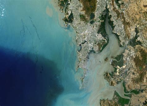 Earth From Space Mumbai India Spaceref