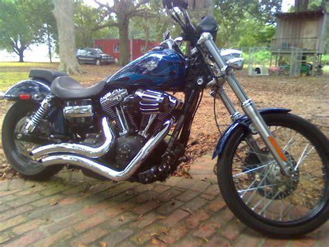 2012 Harley-davidson® Fxdwg Dyna® Wide Glide® (blue/flames