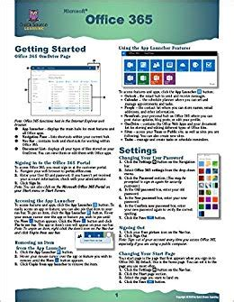 Office 365 Reference Guide by Office 365 Source Reference Guide Source