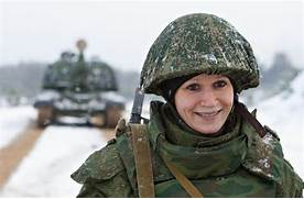 00 Russian female sold...Russian Female Soldiers