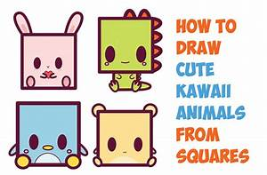 How To Draw Cute Kawaii Cartoon Baby Hamster From