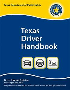 Texas Drivers Handbook  Dl-7