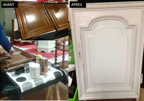 peinture porte cuisine peinture sur meuble portes de cuisine vernis chêne foncé