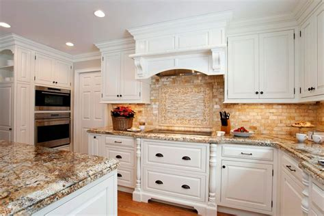 Classic White Traditional Kitchen With Natural Earthy