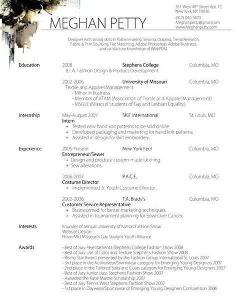 Fashion Designer Resume by Cv Fashion Designer Buscar Con Cv Resume