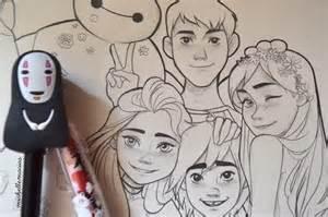Disney Character Drawings Tumblr