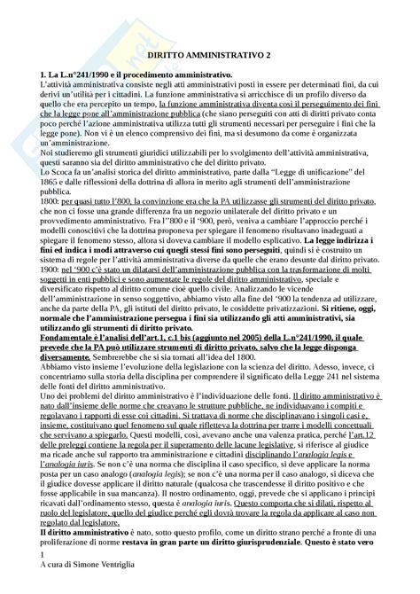 dispensa di diritto amministrativo concetti di diritto amministrativo 2