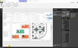 Visio Org Chart Template Visio In Powerbi For Viewing Personnel Hierarchies And