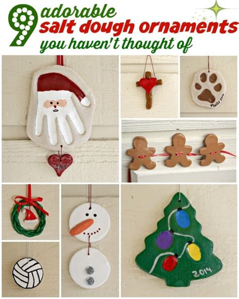 9 adorable salt dough ornaments you haven t thought of ebay