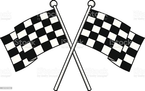 racing flags stock illustration  image  istock