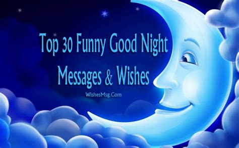 funny good night messages  wishes wishesmsg