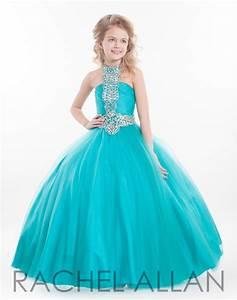 aliexpresscom buy 2017 girls pageant gowns halter neck With robe de soirée bleu turquoise