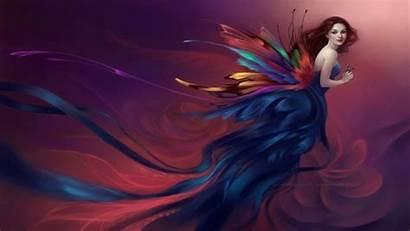 Fairy Fantasy Backgrounds Wallpapers Background Fairies Desktop