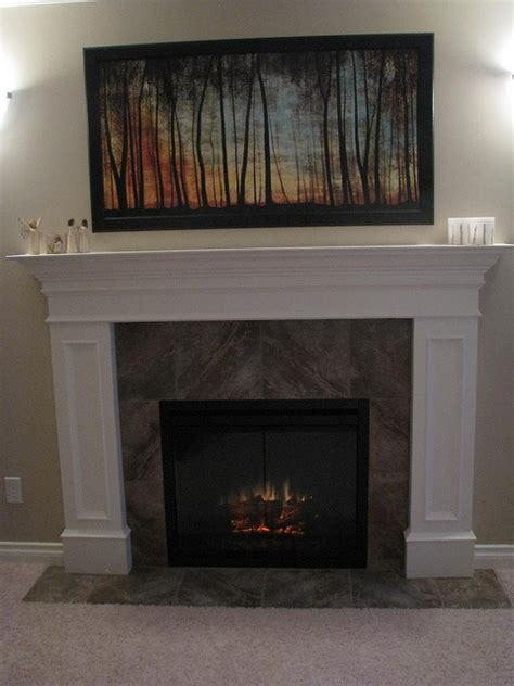 electric fireplaces  real homes images