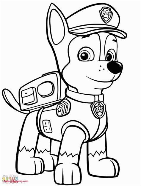 Paw Patrol Coloring Sheets Unique Paw Patrol Colouring