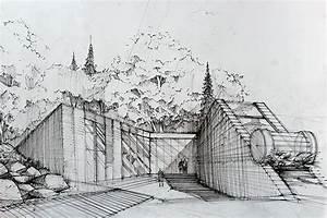Modern architecture on Behance