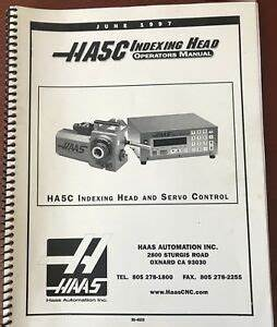 Metalworking Manuals, Books & Plans Haas Rotary Tailstock ...